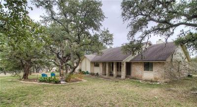 Austin Single Family Home Pending - Taking Backups: 16204 Crystal Hills Dr
