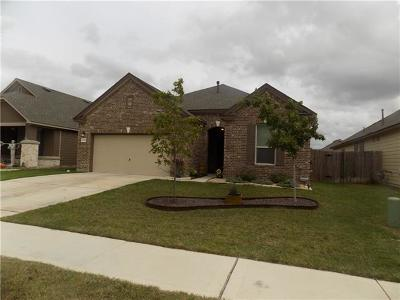 Round Rock Single Family Home For Sale: 8045 Gato Ln