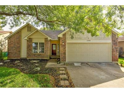 Pflugerville Single Family Home Pending - Taking Backups: 16401 Malden Dr