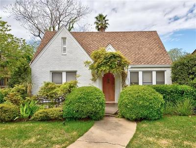 Austin Single Family Home For Sale: 1506 Hartford Rd