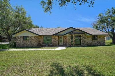 Round Rock Single Family Home Pending - Taking Backups: 4305 Sam Bass Rd