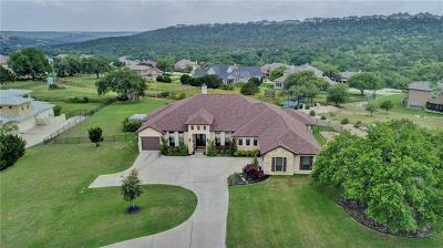 Leander Single Family Home For Sale: 3804 Panther Hall