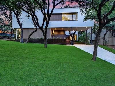 Austin Single Family Home For Sale: 2210 Westlake Dr #A
