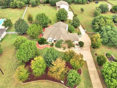 Georgetown Single Family Home For Sale: 221 Four T Ranch Rd
