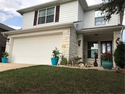 Leander Single Family Home For Sale: 344 Housefinch Loop