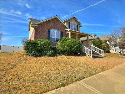 Pflugerville Single Family Home Pending - Taking Backups: 17904 Ice Age Trails St