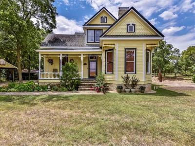 Hutto Single Family Home For Sale: 11900 Fm 1660