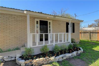 Burnet County Single Family Home For Sale: 103 E Live Oak St