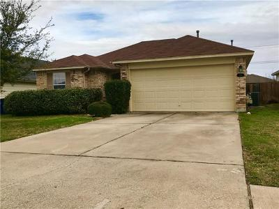 Hutto Single Family Home For Sale: 233 Pentire Way