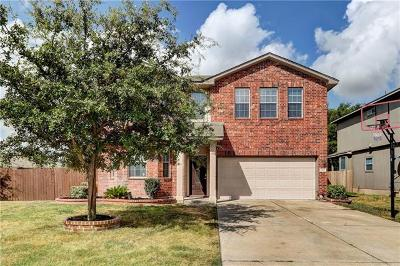 Round Rock Single Family Home For Sale: 2806 Shadowpoint Cv