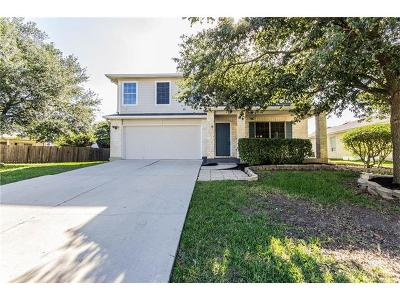 Round Rock Single Family Home For Sale: 3907 Haleys Way