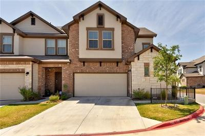 Cedar Park Condo/Townhouse For Sale: 2304 S Lakeline Blvd #391