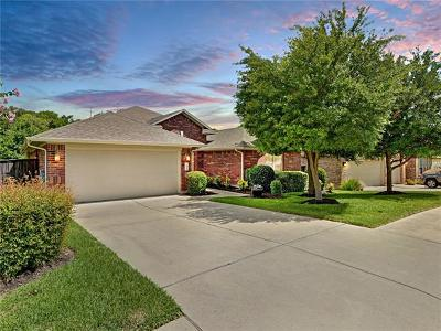Round Rock Single Family Home For Sale: 4534 Monterosa Ln