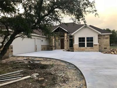 Burnet County Single Family Home For Sale: 105 Secret Cir