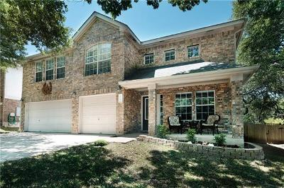 Round Rock Single Family Home For Sale: 2203 Shark Loop