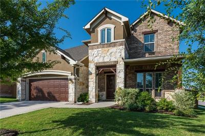 Round Rock Single Family Home For Sale: 3847 Ashbury Rd