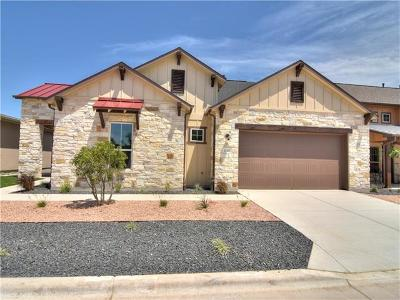 Dripping Springs Single Family Home For Sale: 1232 Lucca Dr