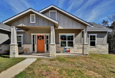 Leander  Single Family Home For Sale: 113 Skyview Ter