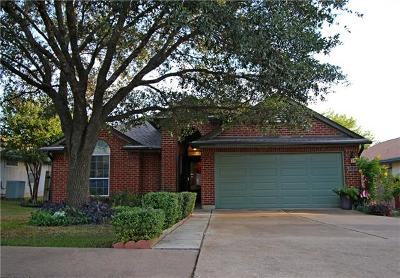 Round Rock Single Family Home Pending - Taking Backups: 1515 Sundance Dr