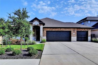 Leander Single Family Home For Sale: 2541 Coralbush Dr