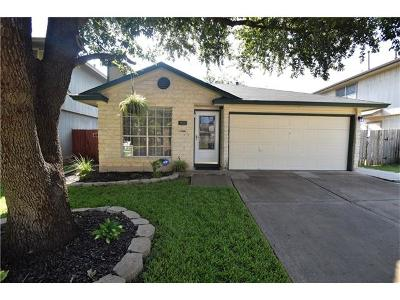 Pflugerville Single Family Home Pending - Taking Backups: 817 Smoke Signal Pass