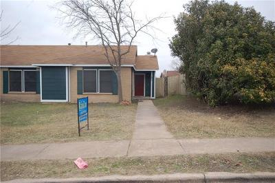 Pflugerville Condo/Townhouse For Sale: 1228 Orchard Park Cir