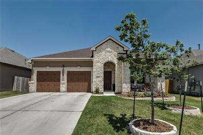 Round Rock Single Family Home For Sale: 6133 Mantalcino Dr