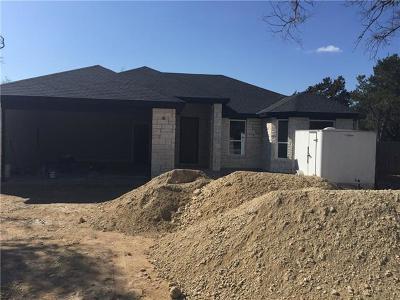 Leander Single Family Home For Sale: 204 Champion Cv