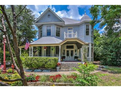 Single Family Home For Sale: 1600 Rio Grande St