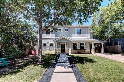 Austin Single Family Home For Sale: 3004 Funston St