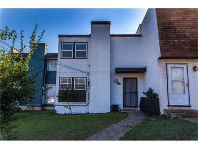 Austin Condo/Townhouse For Sale: 3211 Northeast Dr