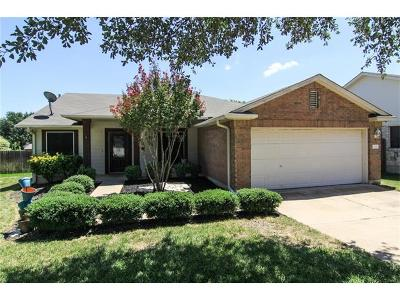 Round Rock Single Family Home For Sale: 1019 Balanced Rock Pl