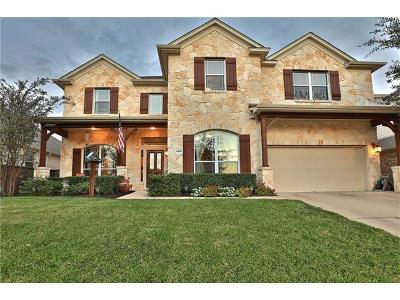 Round Rock Single Family Home For Sale: 4391 Green Tree Dr