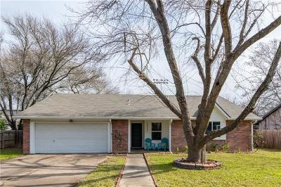 Travis County, Williamson County Single Family Home Pending - Taking Backups: 13321 Villa Park Dr