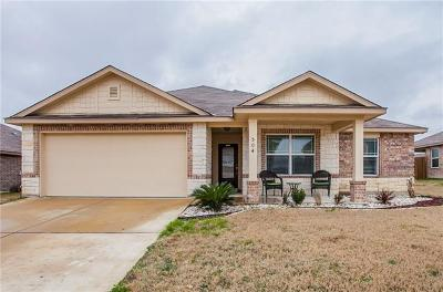 Killeen TX Single Family Home For Sale: $172,500