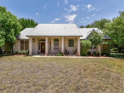Leander Single Family Home For Sale: 165 Mercury Cv
