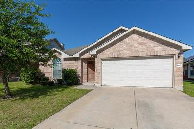 Buda, Kyle Single Family Home For Sale: 1166 Cherrywood