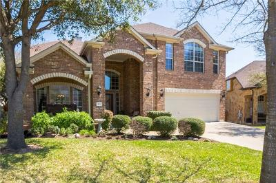 Cedar Park Single Family Home For Sale: 3102 Cashell Wood Dr