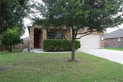 Pflugerville Single Family Home For Sale: 3604 Raven Caw Pass