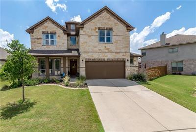 Pflugerville Single Family Home For Sale: 18721 Derby Hill Ln
