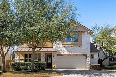 Cedar Park TX Single Family Home For Sale: $489,000