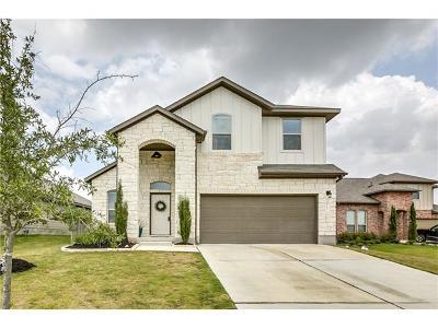 Buda Single Family Home For Sale: 255 Pebble Creek Ln