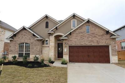 Georgetown Single Family Home For Sale: 344 Cross Timbers Dr