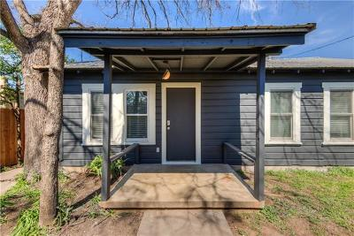 Austin Single Family Home For Sale: 2702 Willow St #B