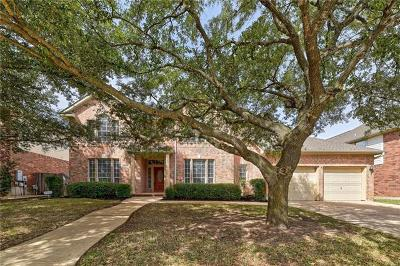 Round Rock Single Family Home For Sale: 8344 Fern Bluff Ave