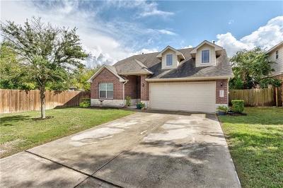 Buda Single Family Home For Sale: 1037 Giberson Way