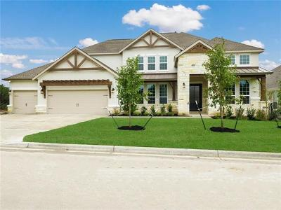 Leander Single Family Home For Sale: 1804 Gilded Crest Dr