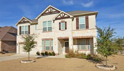 Cedar Park TX Single Family Home For Sale: $399,990