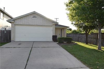 Hays County, Travis County, Williamson County Single Family Home For Sale: 11300 Robert Wooding Dr