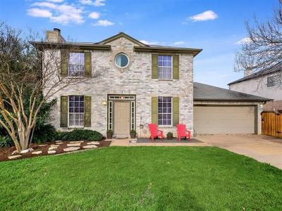 Cedar Park Single Family Home Pending - Taking Backups: 1608 Iris Ln